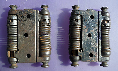 "2 Columbia Double Hinges for a 1"" thick door (Repurpose projects) 3 1/8"" tall"