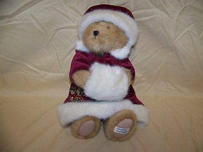 """Exclusive For Yankee Candle Boyd's 12"""" Holiday Best Dressed Teddy Bear In EUC"""