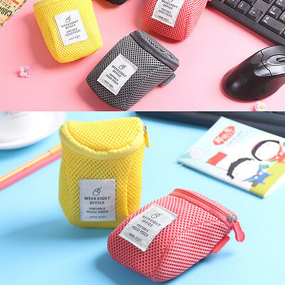 Travel Portable Storage Notebook Mouse USB Protective Case Carrying Pouch Bag