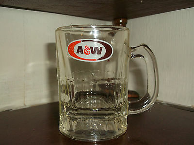 Small Mini A & W Root Beer Mug Cup A&W Rootbeer
