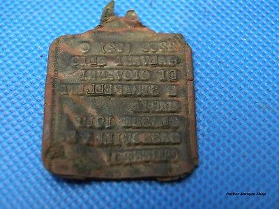 Italian Army Dog Tag of the WWII authentic