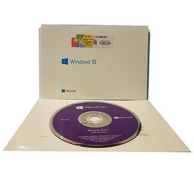 Microsoft Windows 10 Professional 64 Bit DVD with product key Genuine Sealed