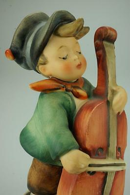 M.I. Hummel Goebel #186 Sweet Music Boy playing Double Bass TMK3 Figurine