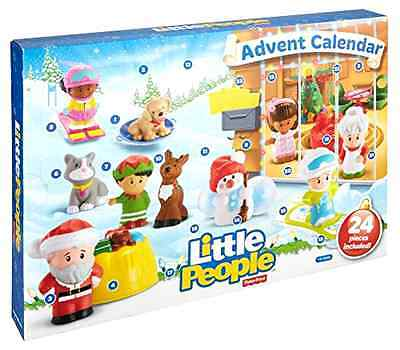 Advent Calendar Christmas Playset Fisher Price Little People New Toy Free Ship