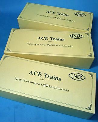 Ace Trains 6 Car LNER Articulated coach set Mint Boxed suit Ace or Darstaed A4