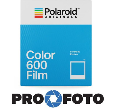 Polaroid Original 600 Colour Instant Film / Polaroid 8 Photo (new, fresh)
