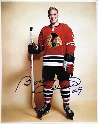 Bobby Hull Autographed 8X10 Photograph - Chicago Blackhawks (HHOF)