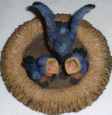 NEW blue bird nest THEMED 5 PCS MINI TEA SET BARBIE MINIATURE PLAYSET