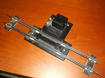 American Flyer Train, S Gauge, Remote Control Track Uncoupler, Copper Backing