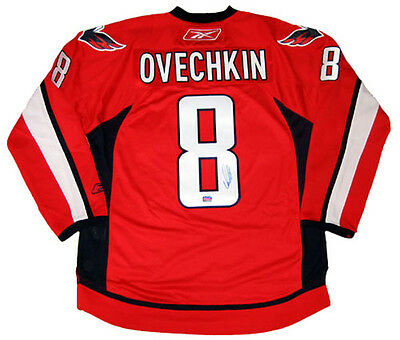 Alexander Ovechkin Autographed Red Washington Capitals Jersey