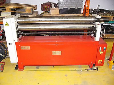 ESR Initial pinch powered bending rolls 1300mm x 4.5mm