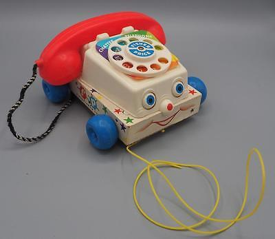 Vintage Fisher Price Chatter Phone 1970's