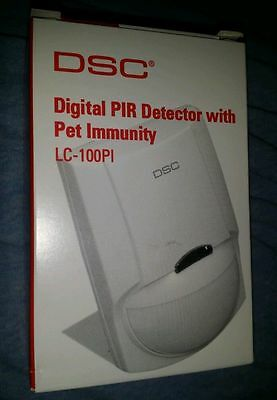 DSC PIR Motion Detector with Pet Immunity LC-100-PI NEW IN A BOX