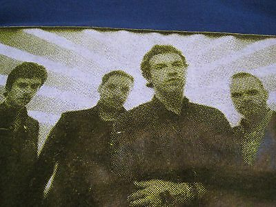 Vintage 2008 COLDPLAY Concert Tour Shirt- Blue- Size XL- Rare? Made in USA!