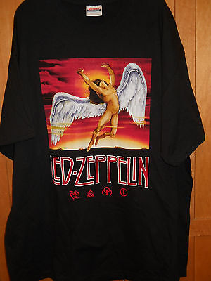 NWOT Mens Led zeppelin icarus tee shirt size 2XL