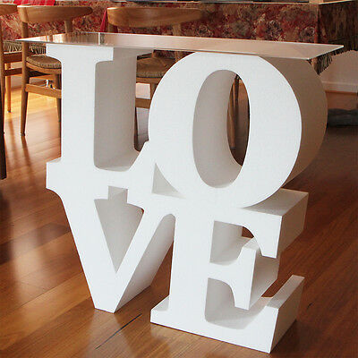 3D LOVE Table / Wedding Table / Candy Table / LOVE Sign Letters - 1m High