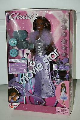 "MATTEL 2003 Movie Star Barbie  Doll ""CHRISTIE"""