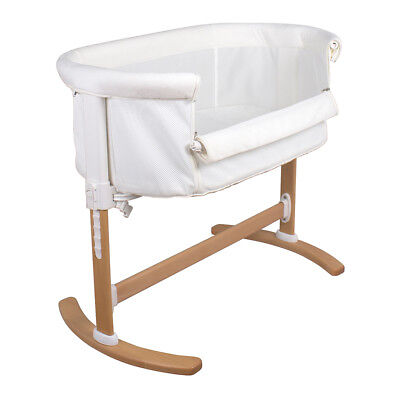 NEW CHILDCARE BRISTOL COT CRIB BABY WITH INNERSPRING MATTRESS WALNUT crib bed