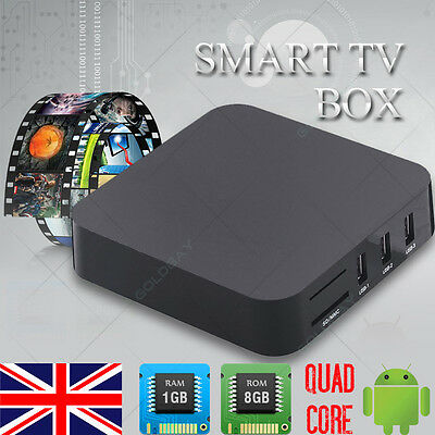 Quad Core Android 4.4 S805 TV Box Fully Loaded KODI XBMC Free Sports Film Movie