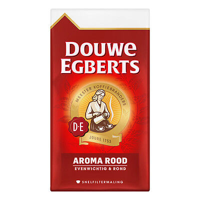 Douwe Egberts Aroma Rood Ground Coffee - 500gr