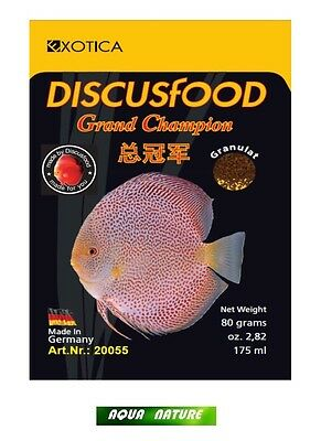 Exotica Discusfood Bœuf Coeur 80g granulat GRAND CHAMPION