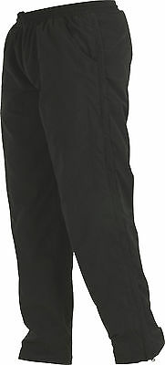 Clearance Line New Gilbert Rugby Mens Zenon Tracksuit Trouser - Black - 2Xs- 3Xl