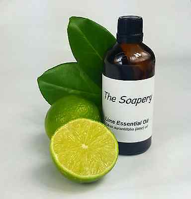 Lime Essential Oil 100ml - Pure Natural Aromatherapy Oil