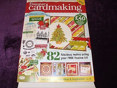 Designer Cardmaking :- Ultimate crafts Special [Christmas 2016] As seen on C&C