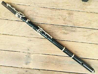"Traditional Wood Simple System Timber Flute John Grey And Sons ""Dulcetta"" c.1916"