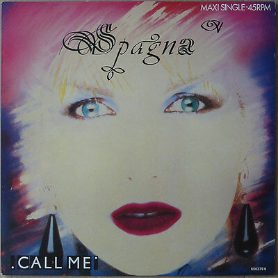 Spagna - Call Me - Holland 1987 - NM