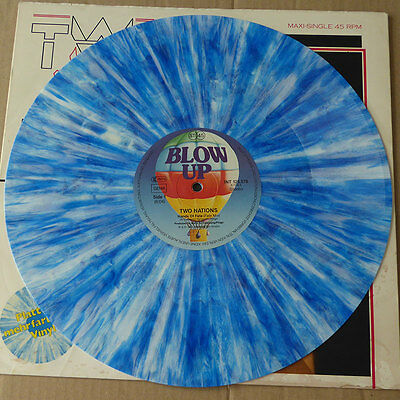 Two Nations - Hands Of Fate (Fate Mix) - Color Vinyl - Europa 1983 - VG++