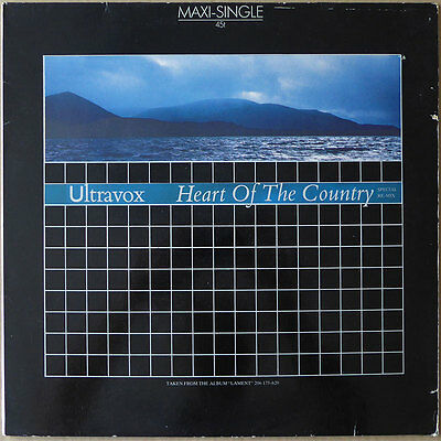 Ultravox - Heart Of The Country (Special Re-Mix) - Europa 1984 - NM