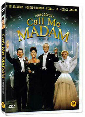 Call me madam (1953) Walter Lang, Ethel Merman / DVD, NEW