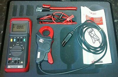Facom Automotive Multimeter & Ammeter Clamp Set with case and leads