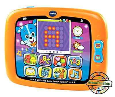 VTech Smart Light Up Baby Touch Tablet Developmental Play Learning Toy Kids New