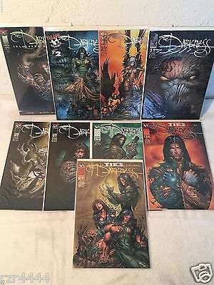 The Darkness Lot of 9 Comics Top Cow Image