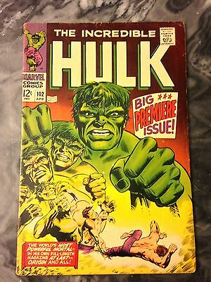 Incredible Hulk 102 (#1) Premiere Issue