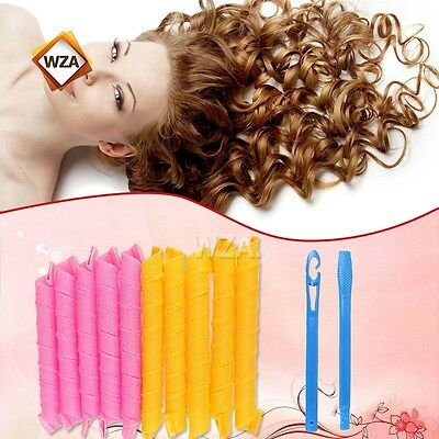 Hair Curlers Twist Spiral Circle Curlformers Useful Rollers Styling 45cm Magic