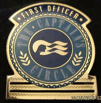 PRINCESS CRUISE LINE CAPTAIN'S CIRCLE FIRST OFFICER PIN Near Mint