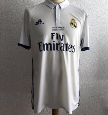 048bbe162 Real Madrid Benzema France Super Cup Player Issue Adizero Match Shirt Jersey