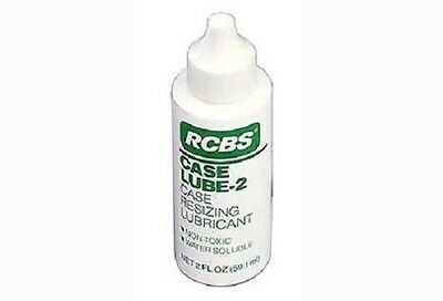 New! Authentic RCBS Case Resizing Lubricant Case Lube 2, 2oz Bottle Model# 9311