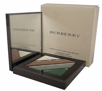 BURBERRY COMPLETE EYE PALETTE 4 ENHANCING COLOURS 5,4g. No. 15 sage green