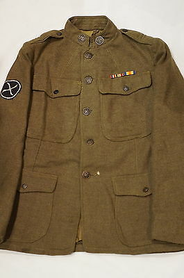 WW1 US AEF Army Air Service Aviation Tunic Doughboy Service Coat