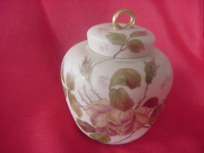 Royal Rudolstadt Antique Ginger Jar 1800's-Germany