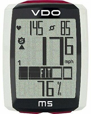 VDO M5 Wireless Cycle Componentuter - Black