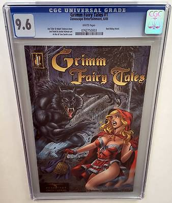 Grimm Fairy Tales #1 CGC 9.6 1st Printing Red Riding Hood (2005)