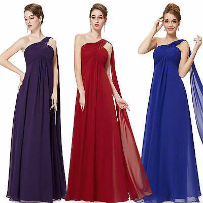 Prom Party Formal Evening Bridesmaid Long Dress Cocktail Uk Gown Wedding Ball UK
