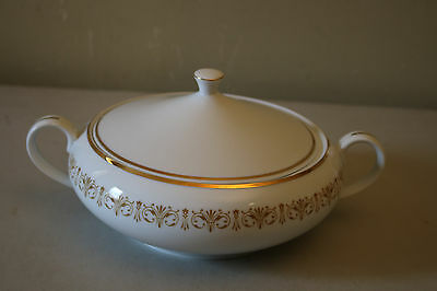 Sheffield Fine China Japan Imperial Gold Soup Tureen