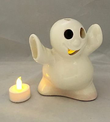 Mccoy Ltd Pottery Ghost Candle Holder