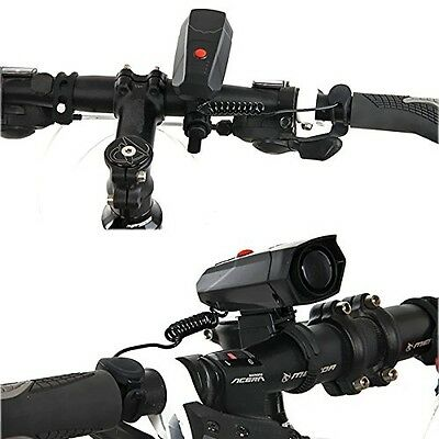 Xcellent Global 5 Modes Electric Cycling Horns Bicycle Handlebar Horn Bike Loud
